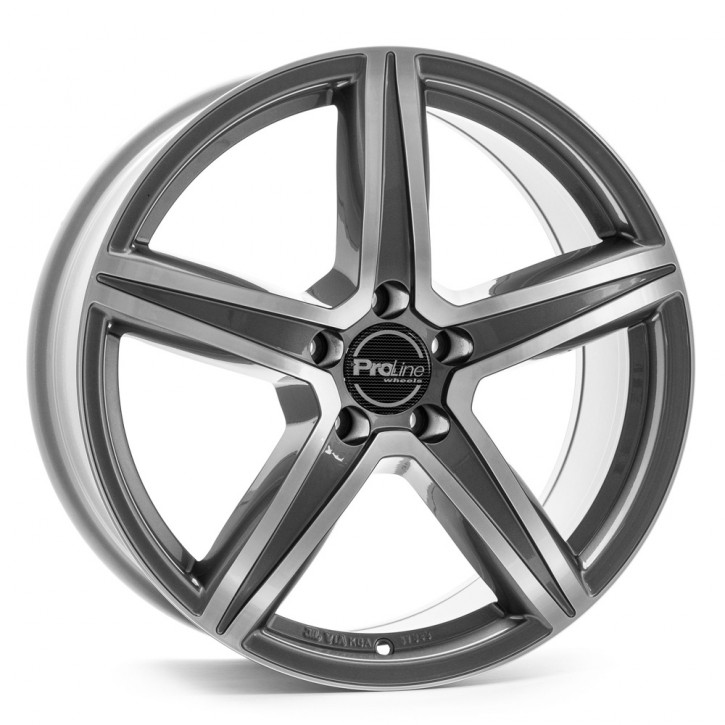 "ProLine - CX200 GREY POLISHED 8,5x19"" [ VW T5 / T6 ]"