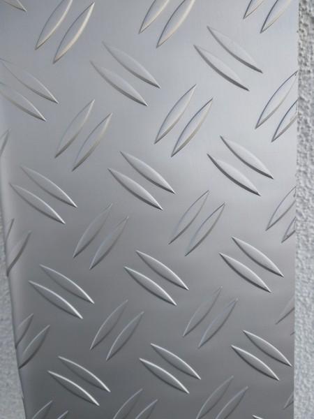 BSB - Ladekantenschutz Alu Riffelblech silber eloxiert  [ MB V-Klasse 639 ]