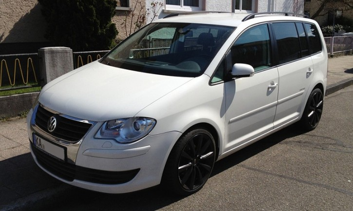 Eibach / BILSTEIN - B8 Komfort -Tieferlegung [ VW Touran 1T ]