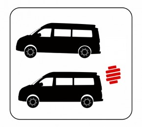 Eibach - Hinterachs-Verstärkungsfedern [ VW T5 / T6 ]