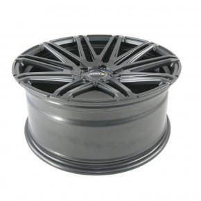 "Twin-Monotube - deep concave HA, 9x20"" [ VW T5 / T6 / T6.1 ] gunmetal (grau)"